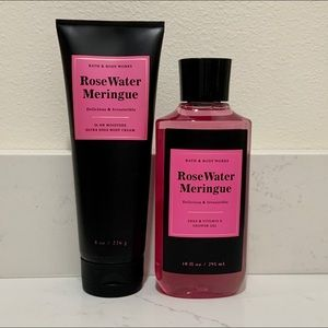 B&BW RoseWater Meringue Set